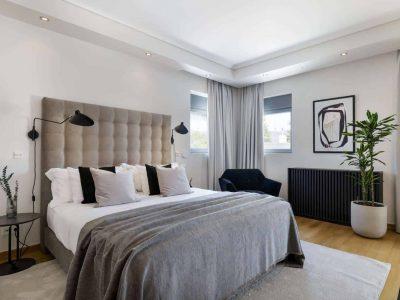 Olive Urban Estate in Athens Greece, bedroom 8, by Olive Villa Rentals