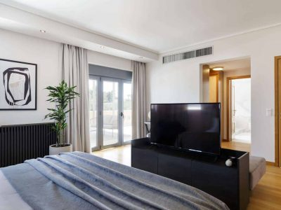Olive Urban Estate in Athens Greece, TV 3, by Olive Villa Rentals