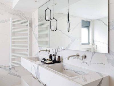 Olive Urban Estate in Athens Greece, bathroom 3, by Olive Villa Rentals