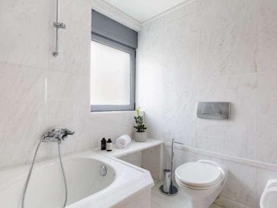 Olive Urban Estate in Athens Greece, bathroom 6, by Olive Villa Rentals