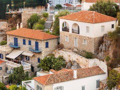 Villa Violet in Hydra Greece, house, by Olive Villa Rentals