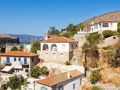 Villa Violet in Hydra Greece, house 2, by Olive Villa Rentals