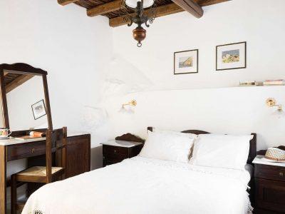 Villa Violet in Hydra Greece, bedroom, by Olive Villa Rentals
