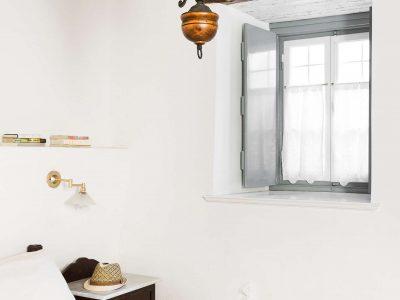 Villa Violet in Hydra Greece, bedroom 2, by Olive Villa Rentals