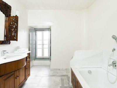 Villa Violet in Hydra Greece, bathroom 3, by Olive Villa Rentals