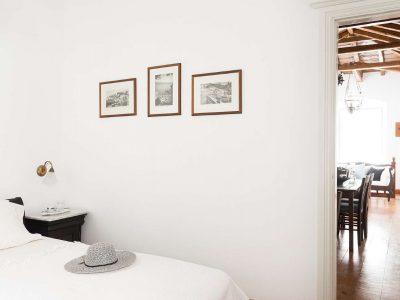 Villa Violet in Hydra Greece, bedroom 4, by Olive Villa Rentals