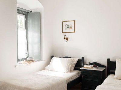 Villa Violet in Hydra Greece, bedroom 5, by Olive Villa Rentals