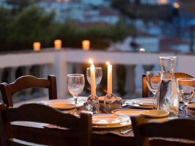 Villa Violet in Hydra Greece, balcony 6, by Olive Villa Rentals
