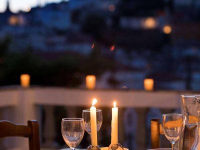 Villa Violet in Hydra Greece, balcony 7, by Olive Villa Rentals