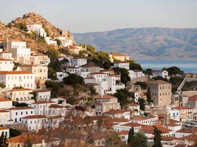 Villa Violet in Hydra Greece, sea view, by Olive Villa Rentals