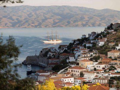 Villa Violet in Hydra Greece, sea view 2, by Olive Villa Rentals