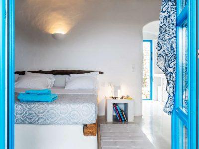 Villa Oliva in Koufonisia Greece, bedroom, by Olive Villa Rentals