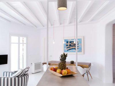 Villa Ariadne in Mykonos Greece, kitchen 2, by Olive Villa Rentals
