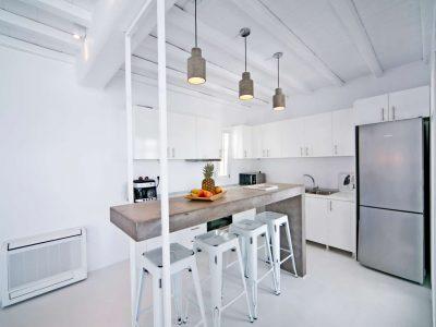 Villa Ariadne in Mykonos Greece, kitchen 4, by Olive Villa Rentals