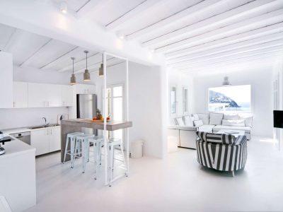 Villa Ariadne in Mykonos Greece, kitchen 6, by Olive Villa Rentals