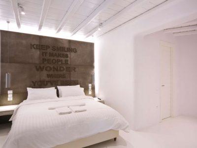 Villa Ariadne in Mykonos Greece, bedroom 8, by Olive Villa Rentals