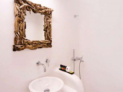 Villa Ariadne in Mykonos Greece, bathroom 2, by Olive Villa Rentals