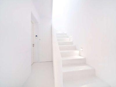 Villa Ariadne in Mykonos Greece, stairway 2, by Olive Villa Rentals