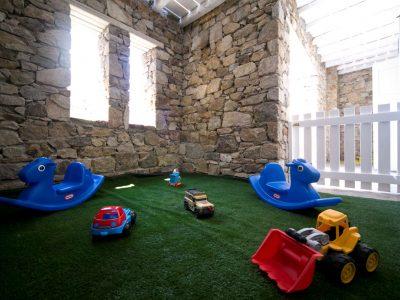 Villa Ariadne in Mykonos Greece, toy room 2, by Olive Villa Rentals