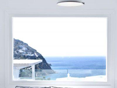 Villa Ariadne in Mykonos Greece, sea view, by Olive Villa Rentals