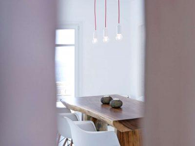 Villa Ariadne in Mykonos Greece, dining room 2, by Olive Villa Rentals