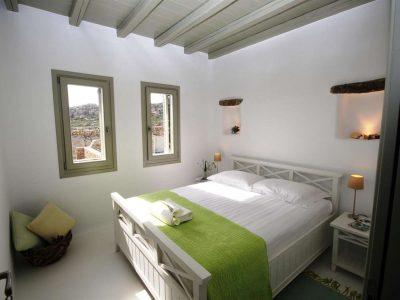 Villa Joy in Mykonos Greece, bedroom 3, by Olive Villa Rentals