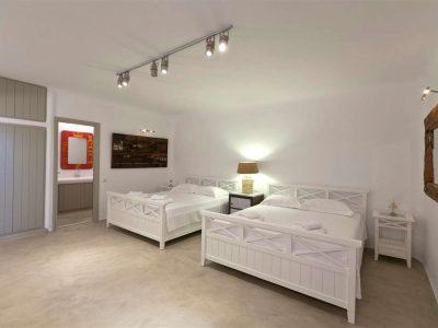 Villa Joy in Mykonos Greece, bedroom 4, by Olive Villa Rentals