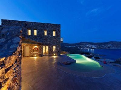 Villa Joy in Mykonos Greece, house 5, by Olive Villa Rentals