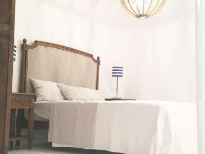 Villa Leirion in Mykonos Greece, bedroom, by Olive Villa Rentals