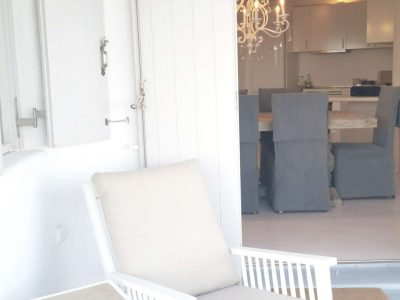 Villa Leirion in Mykonos Greece, dining room 4, by Olive Villa Rentals