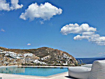 Villa Leirion in Mykonos Greece, pool 2, by Olive Villa Rentals