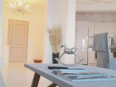 Villa Leirion in Mykonos Greece, living room 3, by Olive Villa Rentals