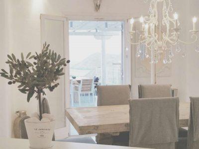 Villa Leirion in Mykonos Greece, dining room 2, by Olive Villa Rentals