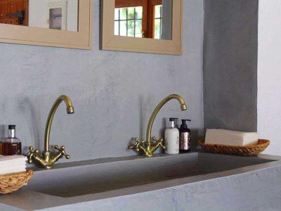 Villa Thetis in Pelion Greece, bathroom, by Olive Villa Rentals