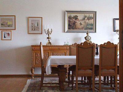 Villa Thetis in Pelion Greece, dining room, by Olive Villa Rentals