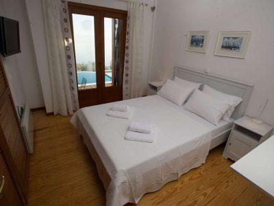 Villa Achilles in Pelion Greece, bedroom, by Olive Villa Rentals