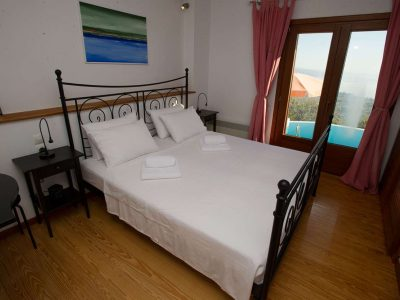 Villa Achilles in Pelion Greece, bedroom 2, by Olive Villa Rentals