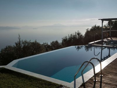 Villa Achilles in Pelion Greece, pool 2, by Olive Villa Rentals