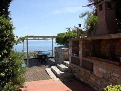 Villa Achilles in Pelion Greece, sea view 2, by Olive Villa Rentals