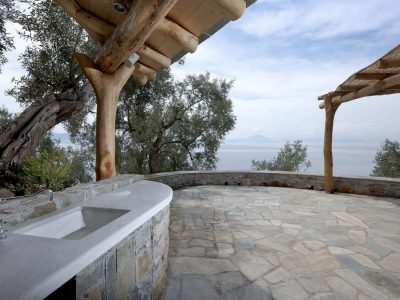 Villa Idyll in Pelion Greece, outside 2, by Olive Villa Rentals