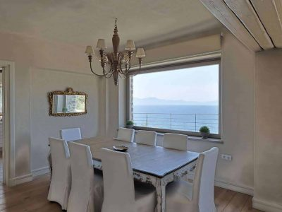 Villa Idyll in Pelion Greece, dining room, by Olive Villa Rentals