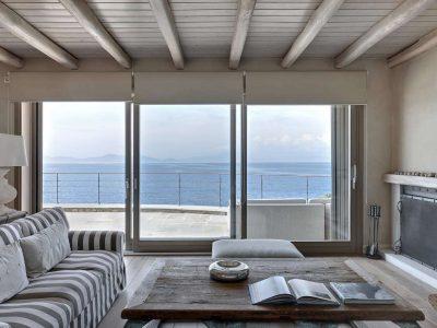 Villa Idyll in Pelion Greece, living room 3, by Olive Villa Rentals