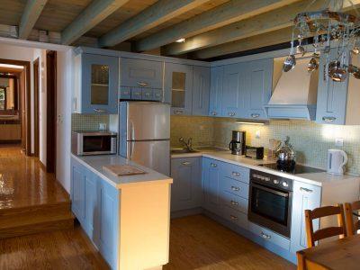 Villa Jason in Pelion Greece, kitchen, by Olive Villa Rentals