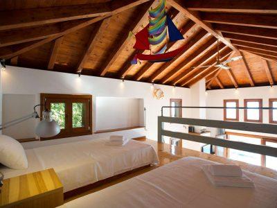 Villa Jason in Pelion Greece, bedroom 4, by Olive Villa Rentals