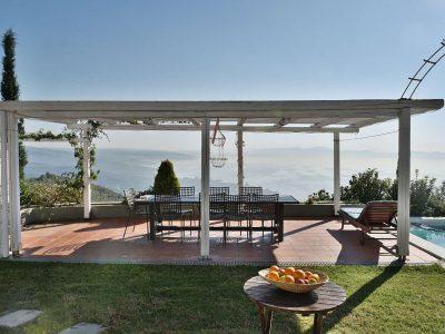 Villa Jason in Pelion Greece, sea view 2, by Olive Villa Rentals