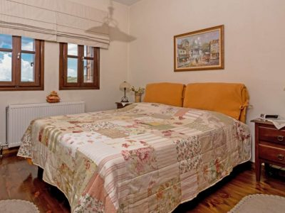 Milies House in Pelion Greece, bedroom 2, by Olive Villa Rentals