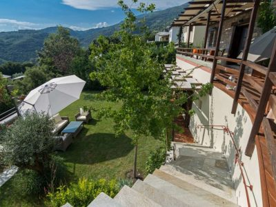 Milies House in Pelion Greece, outside 2, by Olive Villa Rentals