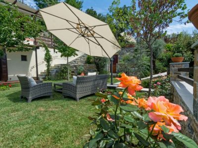 Milies House in Pelion Greece, outside 3, by Olive Villa Rentals