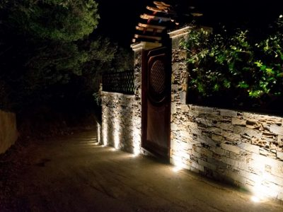 Milies House in Pelion Greece, entrance 2, by Olive Villa Rentals