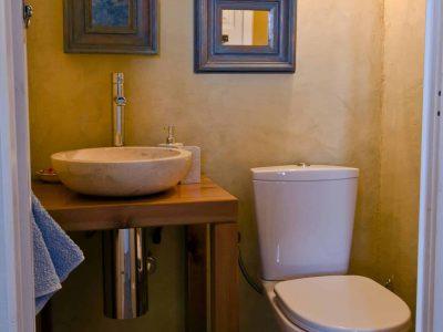 Villa Cybele in Skopelos Greece, bathroom, by Olive Villa Rentals